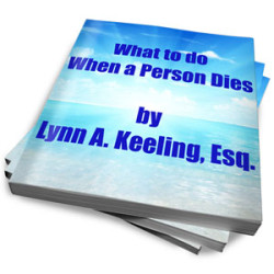 ebook-what-to-do-when-a-person-dies image | eBook - What to do When a Person Dies